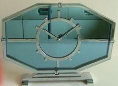 Jaz Art Deco Clock   Very rare English Art Deco Streamline Clock