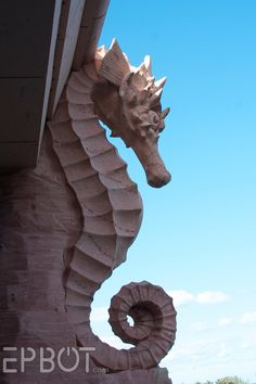 Seahorse Architectural Inspiration