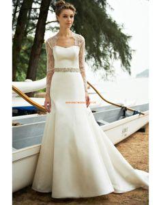 Augusta Jones 2013 Moderne Schicke Brautmode aus Satin