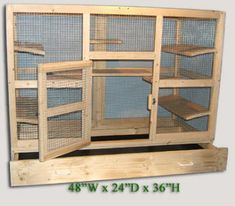 this site will custom build a chin cage for you.