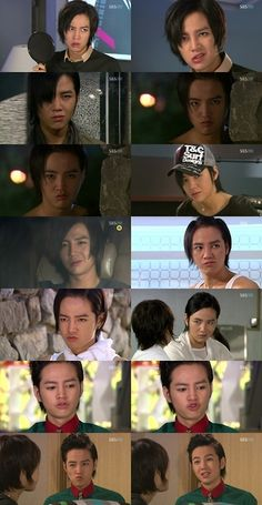 A few of Hwang Tae Kyung's faces