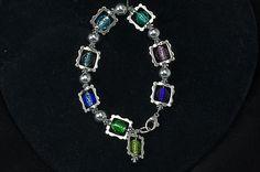 square and round bracelet $40