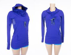 LULULEMON Run Ambition Pullover 6 S Blue Power Luxtreme Hoodie Rare Color #Lululemon #ShirtsTops