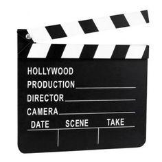Filmklappe Hollywood 20 x 18 cm, 2.59€