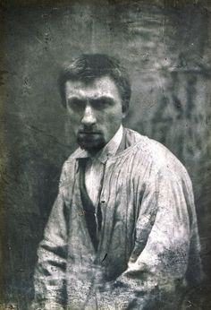 Auguste Rodin, ca 1862, photographed by Charles Hippolyte Aubry, Paris.
