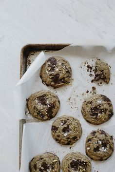 Chocolate chip, buckwheat and sea salt cookies for Aloha | Cannelle et Vanille