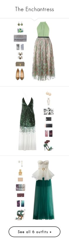 """The Enchantress"" by sol4nge ❤ liked on Polyvore featuring Saloni, MSGM, Christian Louboutin, Bottega Veneta, Dolce&Gabbana, Roberto Cavalli, Chloé, Monique Péan, Casetify and Kenzo"