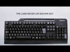 Land Rover Esc key added to keyboard. Promotes and instill the classic adventurous spirit of Land Rover in the next generation of prospective owners. And encourage them to discover life beyond their office cubicles. Street Marketing, Guerilla Marketing, Creative Advertising, Advertising Agency, Direct Mailer, Booklet Printing, Digital Campaign, Land Rover, Creative Video