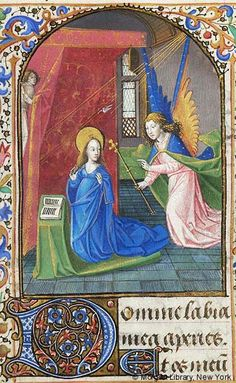 Book of Hours, MS G.1.I fol. 21r - Images from Medieval and Renaissance Manuscripts - The Morgan Library & Museum