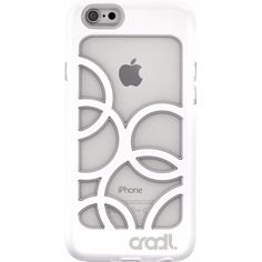 cradl. - Bubbles Case for Apple iPhone 6 & 6s - White