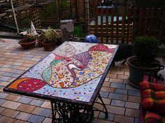 Good mood table by Mosaikstall, via Flickr