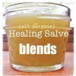 3 NEW All~Purpose Healing Salve BLENDS!
