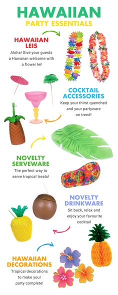 aloha party Looking for inspiration for a Hawaiian party theme? Pick up all the Hawaiian party essentials you need for a tiki-tastic summer party on including leis, pineapple cups, Hawaii Aloha Party, Luau Theme Party, Hawaiian Party Decorations, Party Fiesta, Hawaiian Luau Party, Moana Birthday Party, Hawaiian Birthday, Luau Birthday, Tiki Party