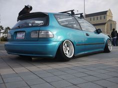 To drive this car....1995 Honda Civic hatchback. I'm not really into big, flashy cars.