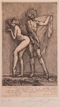 Art illustrations by Ernst Fuchs