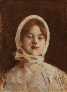 Peasant Woman, 1896 by Stefan Luchian. Art Database, Traditional Paintings, Art Club, Art World, Modern Art, Fine Art, Matisse, Painters, Art Nouveau