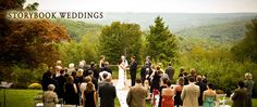 The French Manor offers beautiful scenic views as a backdrop to your wedding! #PoconoMtns