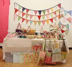 Craft fair display.... uhhhh SARA next year girl!