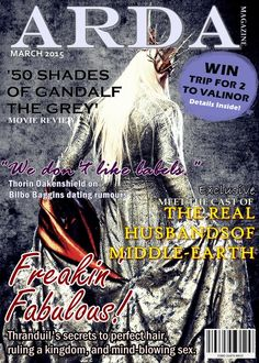 I wish this magazine was real. :P