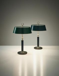 ERIK TIDSTRAND Pair of table lamps, model no. 27524 , circa 1932
