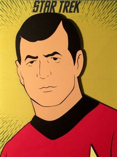 """docgold13: """"Star Trek The Animated Series paper cut-outs """""""