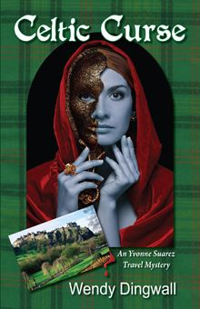 Celtic Curse: An Yvonne Suarez Travel Mystery. Yvonne travels to Scotland to solve a cold-case mystery.