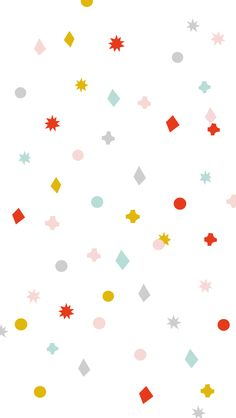 Bonne Année Rainbow Confetti iPhone Wallpaper Lock Screen @PanPins