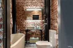 El piso perfecto (de aire industrial) · The perfect apartment (with brick walls)