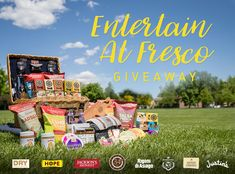 Entertain Al Fresco Giveaway