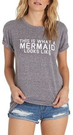 8294543c89 Women's Billabong I'M A Mermaid Tee afflinks Billabong, Nordstrom, ...