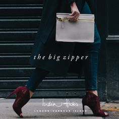 My fall obsession- the Big Zipper from India Hicks - also comes in black!