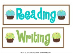 Cupcake Theme Classroom