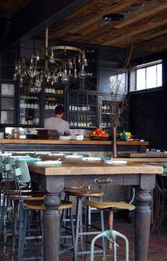 6 Peaceful Cool Tricks: Rustic Restaurant Names rustic living room farmhouse. Rustic Restaurant, Restaurant Design, Restaurant Bar, Vintage Restaurant, Design Café, Cafe Design, Cafe Bar, Cafe Shop, Café Bistro