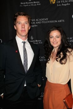 Benedict Cumberbatch and Lara Pulver, BAFTA Los Angeles 2013 Awards Season Tea Party @ Four Seasons Hotel Los Angeles on January 12, 2013