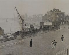 Search results for: 'paintings d lindsey wharf & cremorne road old chelsea' Vintage London, Old London, Chelsea London, End Of The World, Childhood Memories, Vintage Photos, Nostalgia, Fine Art, Black And White