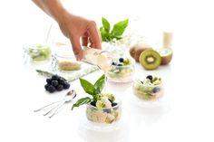 Kiwi con salsa de yogur y vainilla | Velocidad Cuchara
