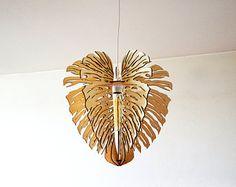 Monstera lampe