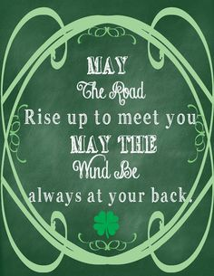 Patrick& Day Chalkboard Printable ~ This St. Patrick& Day themed chalkboard art is perfect to print and frame for an easy DIY party decoration or just . Chalkboard Art, Chalkboard Printable, Irish Eyes Are Smiling, Irish Quotes, Irish Sayings, St Patrick's Day Crafts, Holiday Crafts, Daycare Crafts, Holiday Ideas