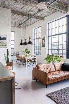 Living Room Scandinavian Loft Ideas For 2019 Loft Interior Design, Industrial Interior Design, Loft Design, Room Interior, Interior Architecture, Interior Design Styles Quiz, Design Shop, Kitchen Interior, Design Design