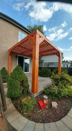 Enjoy the Arizona weather without sitting under the sun. Just a simple design can really transform the look of you backyard.   American Construction & Renovation 480-404-3033 AmericanConstructed.com #AmericanConstructed @AmericanConstructed