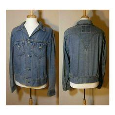 Vintage Levi's Jacket Denim jacket Jean by OpenMarketVintage #Menswear #Mensfashion #Levis #LeviJacket #IconicType1 #JeanJacket #MensLevi's #Men #VintageLevis #DenimJacket #Fashion  #Vintage #Etsy