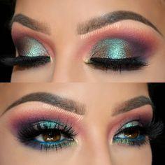 Gorgeous Makeup: Tips and Tricks With Eye Makeup and Eyeshadow – Makeup Design Ideas Gorgeous Makeup, Pretty Makeup, Love Makeup, Makeup Inspo, Makeup Art, Makeup Inspiration, Beauty Makeup, Hair Makeup, Amazing Makeup