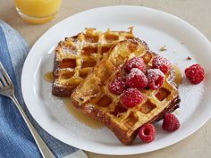 Waffled Brioche French Toast recipe from Food Network Kitchen via Food Network