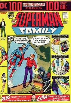 Superman Family #164. 100 pages. #Superman