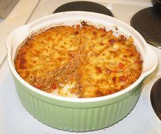 Juustoinen tonnikalapastavuoka Oven Baked, I Love Food, Pasta Dishes, Macaroni And Cheese, Food And Drink, Cooking Recipes, Fish, Homemade, Baking