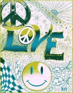 Peace Man ☮ Artist Kathy Nail
