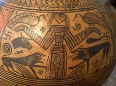 .. Greek Vase with swastika - National Archeology Museum - Athens | by pacoalfonso