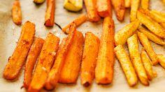 Nutrisystem provides five recipes for guilt-free veggie fries.