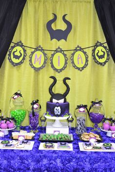 Partylicious: {Maleficent Birthday Party}