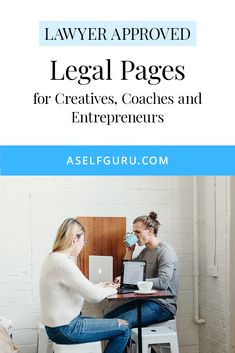 Legal Bundle (privacy policy, disclaimer and terms and conditions templates) for your website. Lawyer approved and comply with GDPR rules Creative Business, Business Tips, Online Business, Legal Forms, Online Blog, Online Entrepreneur, Influencer Marketing, Privacy Policy, Work From Home Jobs